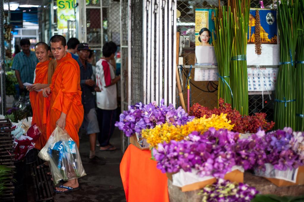Cut Flower, Chiang Mai Market