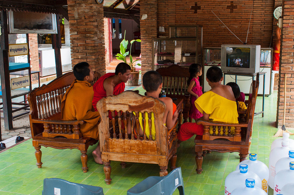 TV Time for Young Monks