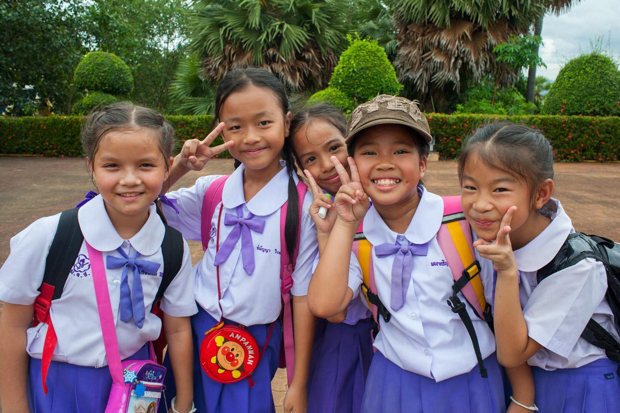thai girl school