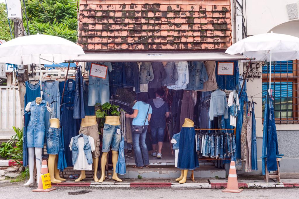The Blue Denim Shop, Chiang Mai