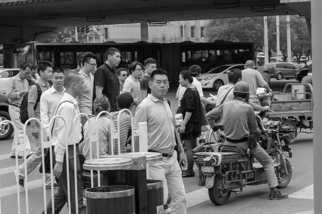 Congested Sanlitun, Beijing