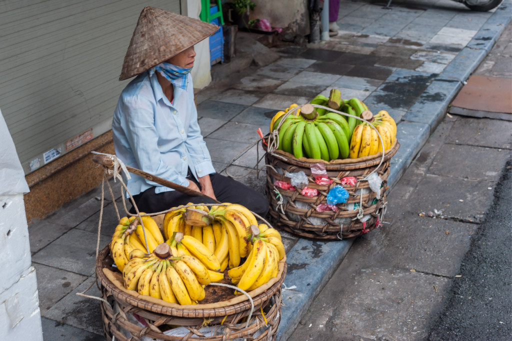 Bananas for Sale, Hanoi