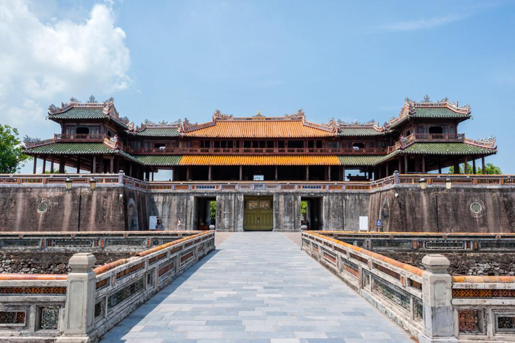 Southern Gate, Hue Citadel, Vietnam
