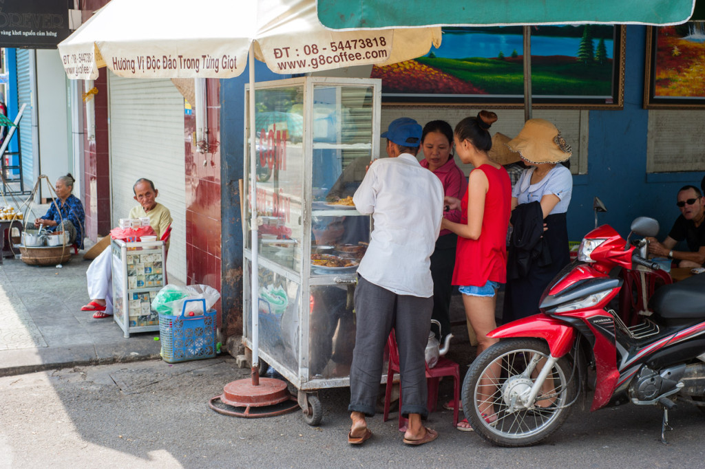Ordering Lunch, Hue, Vietnam