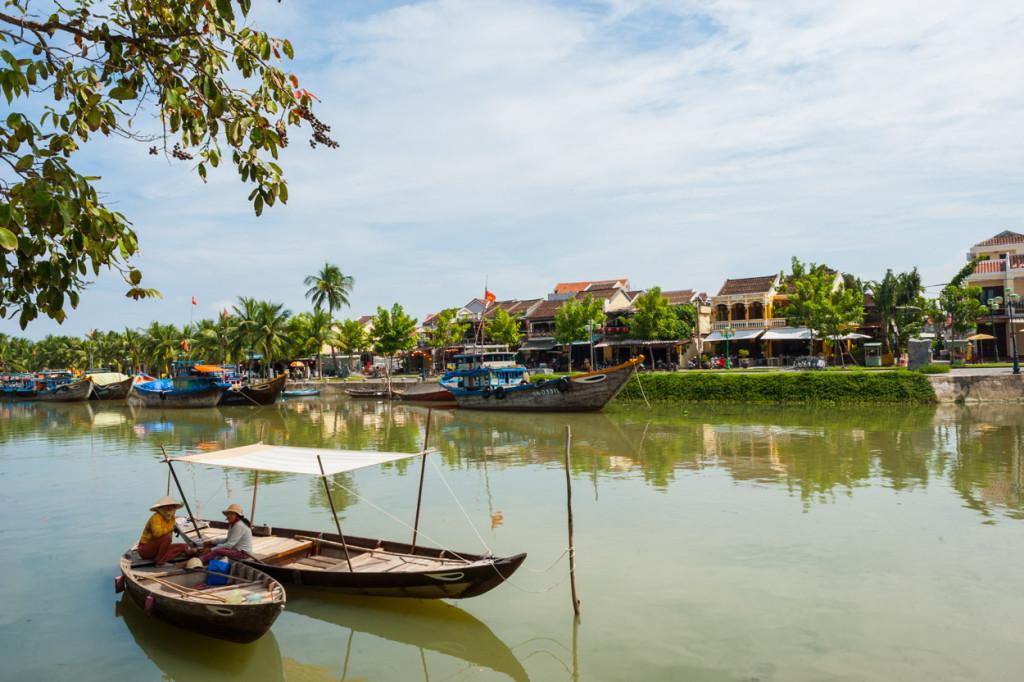 Thu Bồn River, Hoi An, Vietnam