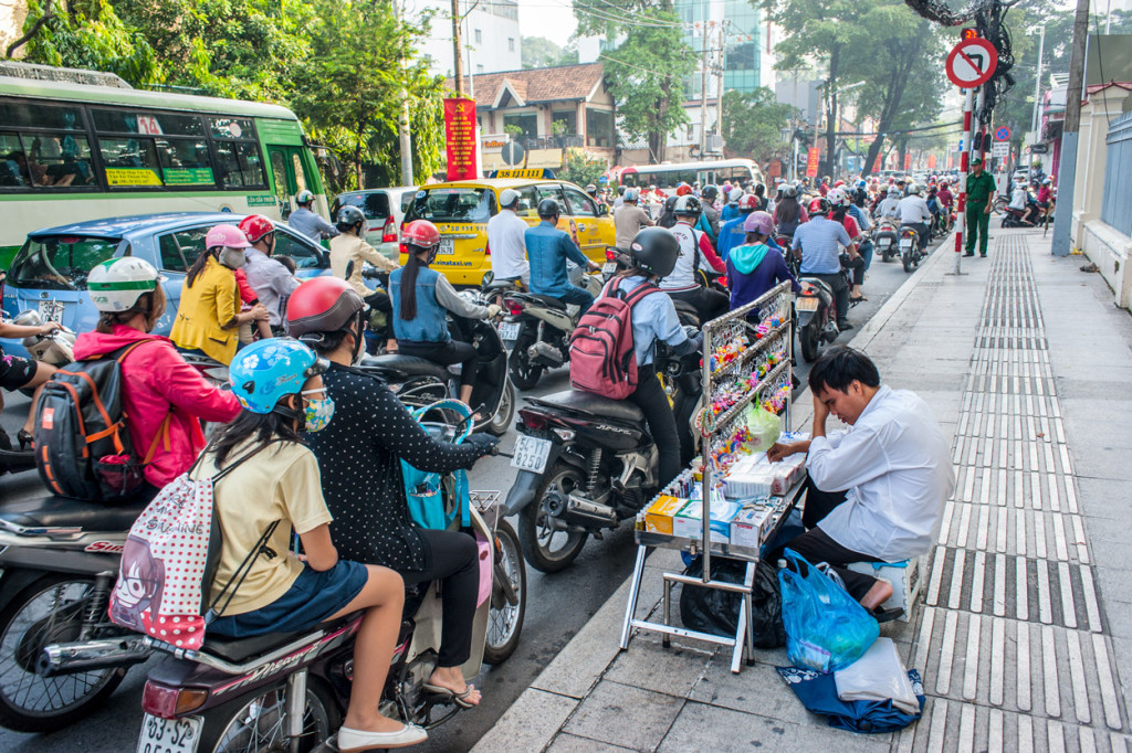 Congestion, Ho Chi Minh City