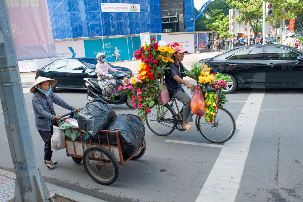 Flowers on Wheels, Ho Chi Minh City