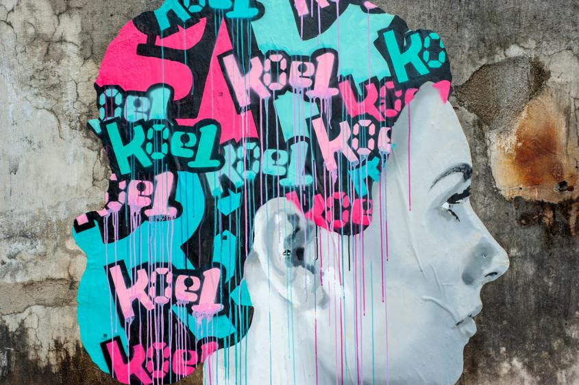Street Art, Danang, Vietnam