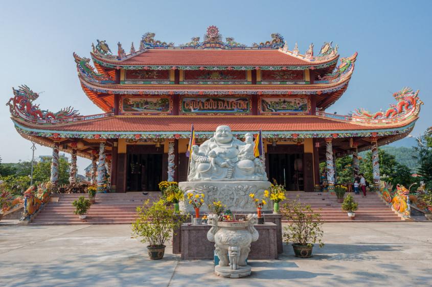 Buddhist Pagoda, Danang, Vietnam