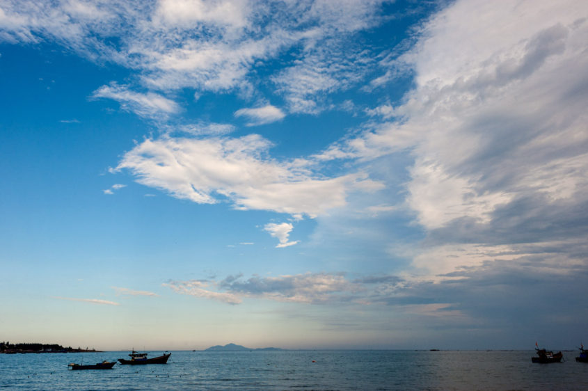 View of the East Sea, Vietnam
