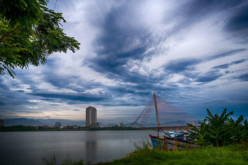Overcast Morning, Da Nang, Vietnam
