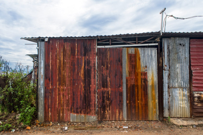 Corrugated Shack, Da Nang