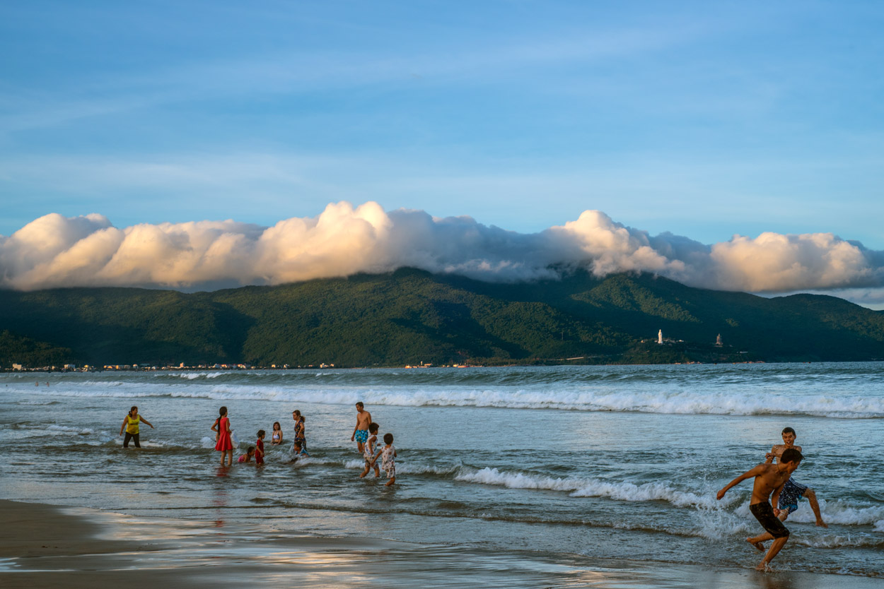 Beach Play, Da Nang, Vietnam