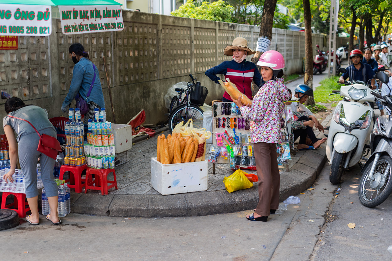 French style baguettes are part of France's colonial legacy in Vietnam.